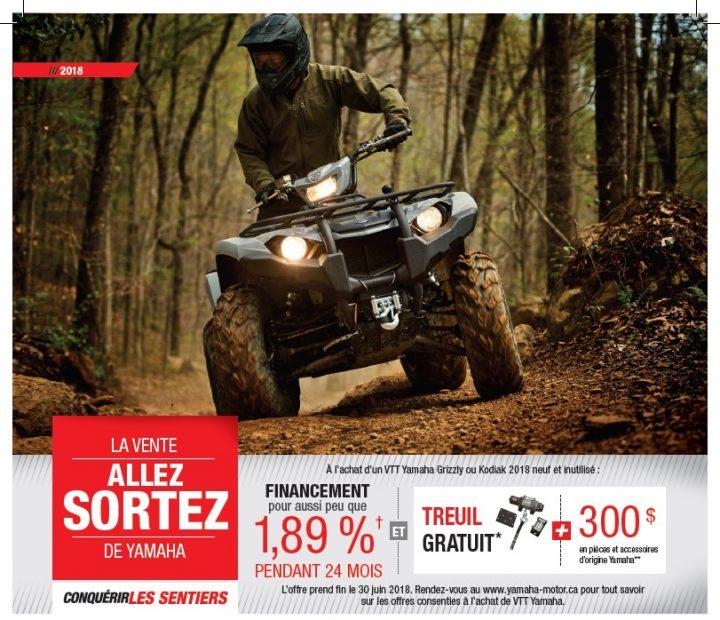 Promotion Yamaha VTT