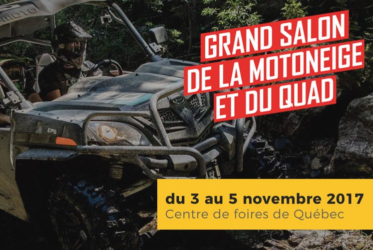 Le Grand salon de la motoneige et du quad, un rendez-vous pour les passionnés de sports motorisés