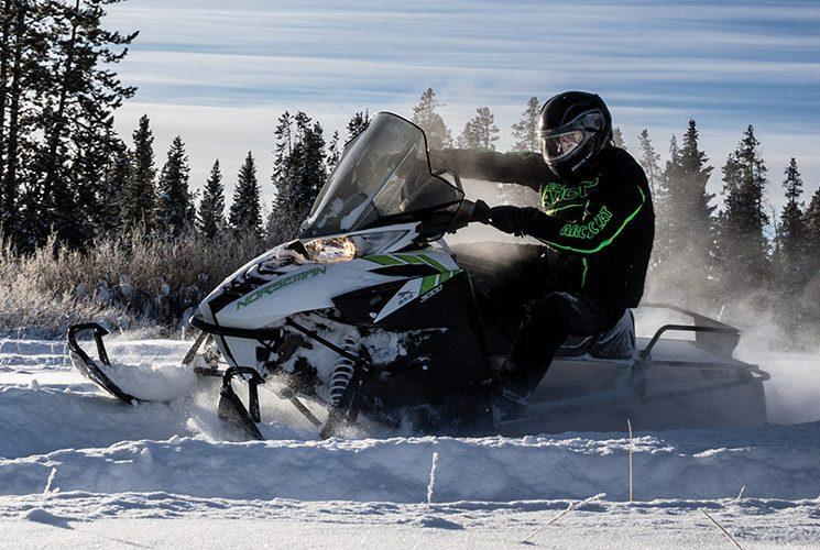 Norseman 3000, la nouvelle motoneige utilitaire d'Arctic Cat