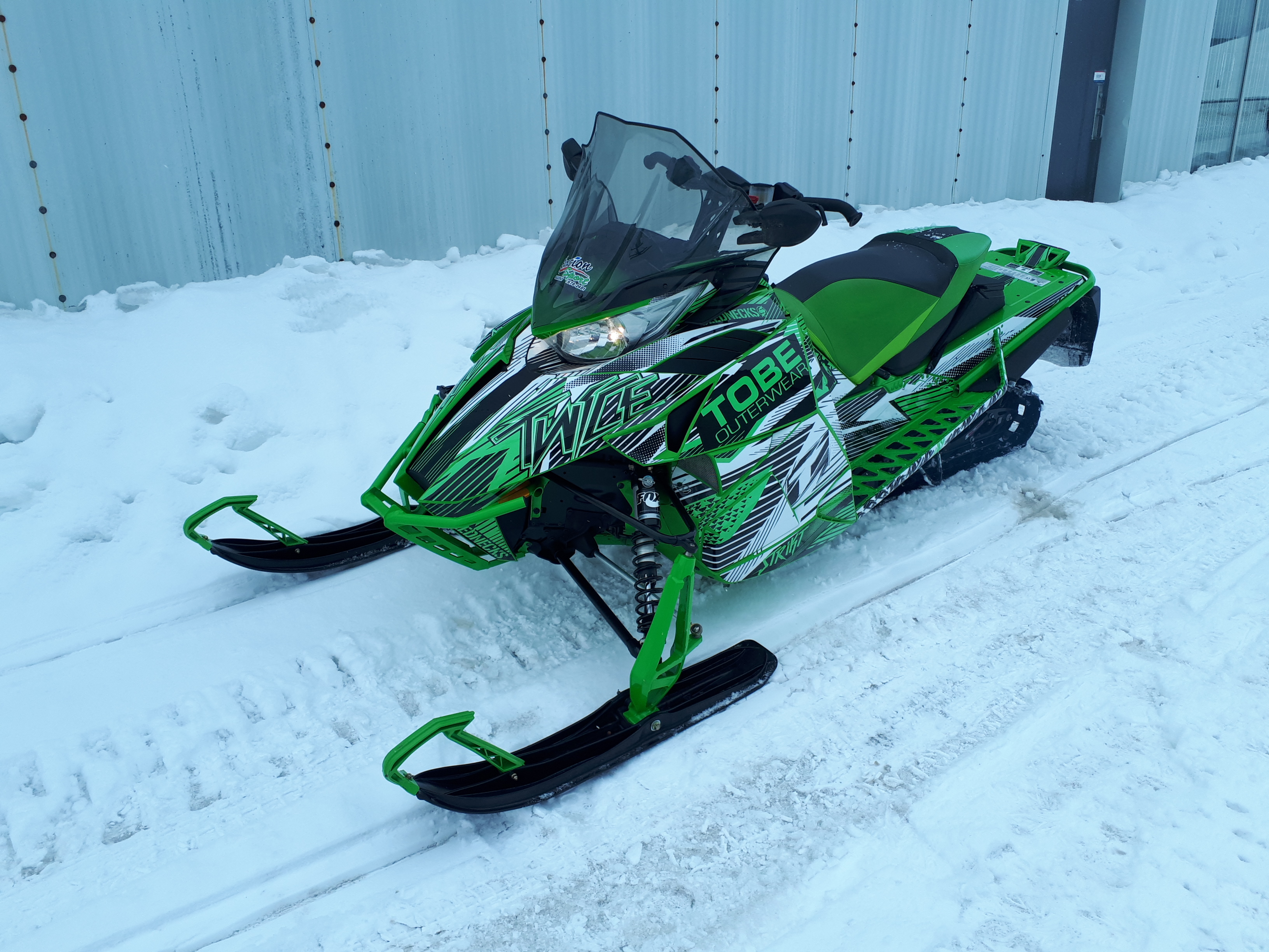 Arctic Cat ZR 8000 Limited 137 2016 U18-002