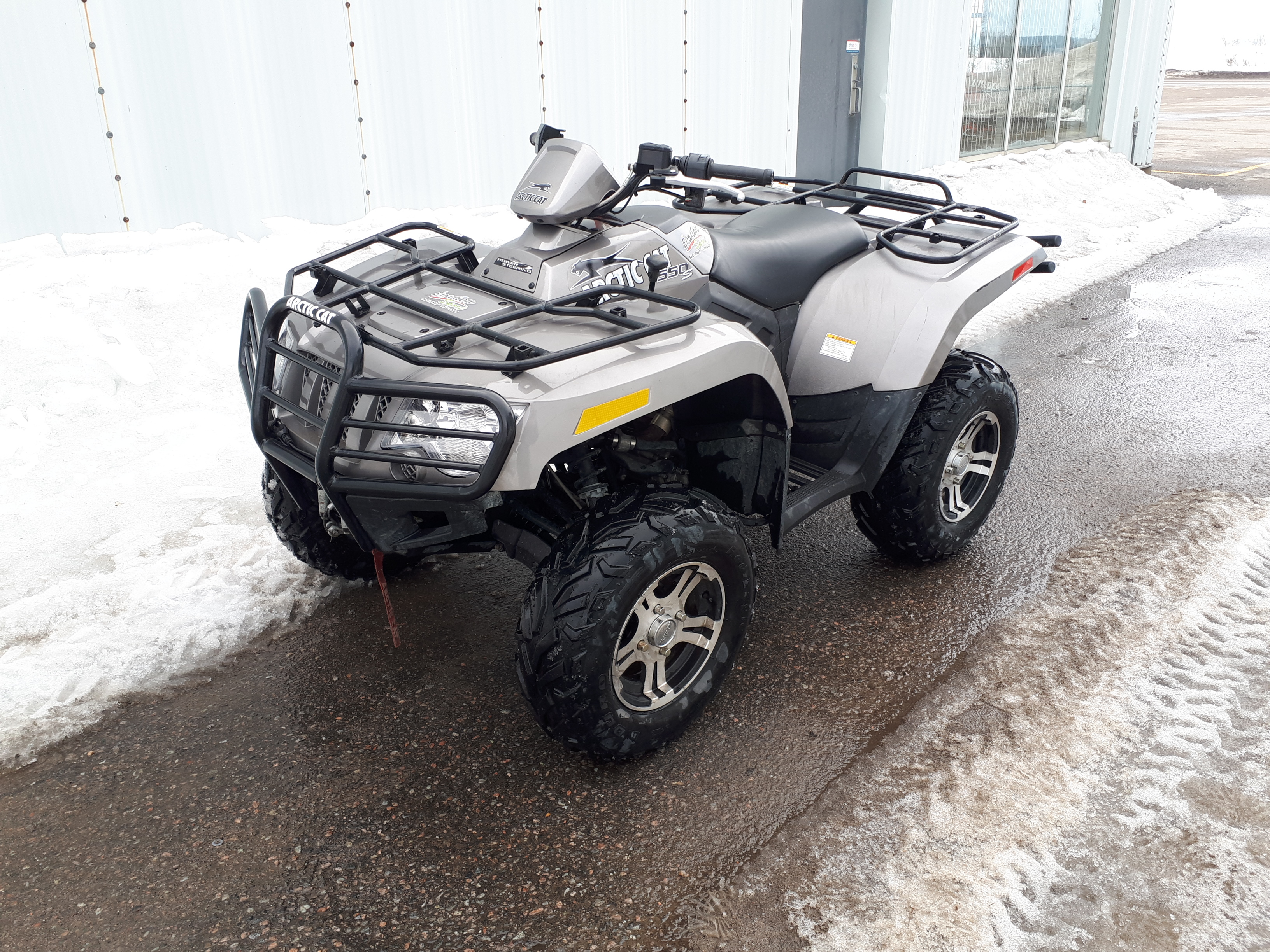 Arctic Cat 550S EPS 4×4 2010