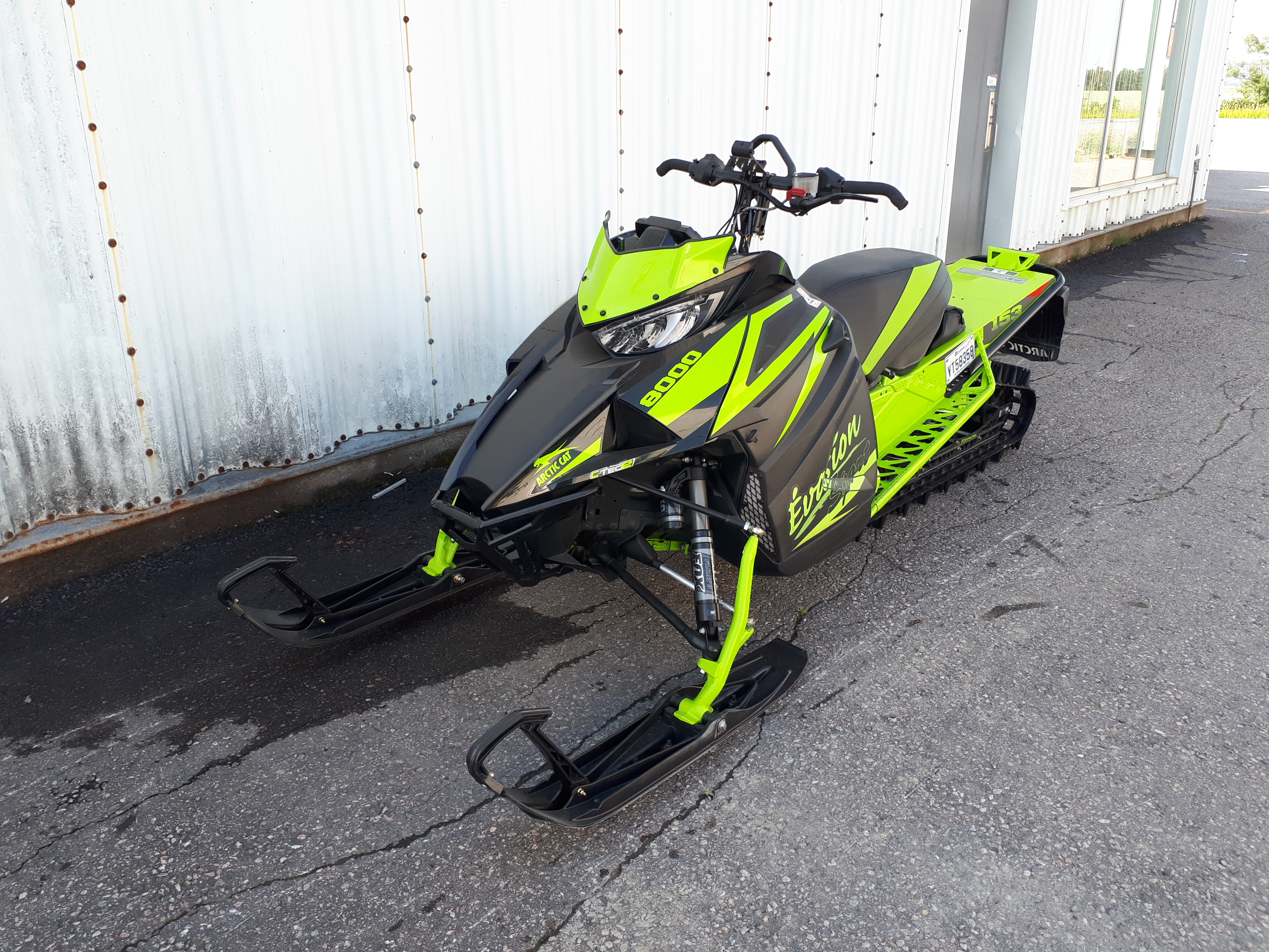 Arctic Cat Mountain Cat 8000 153 ES 2018