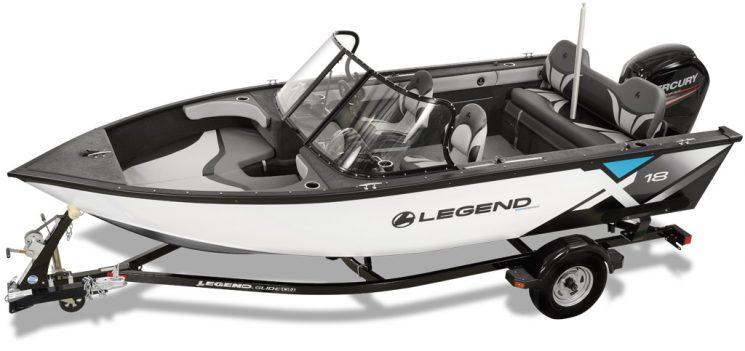 Legend X18 + Mercury 90 ELPT 4 Temps 2021