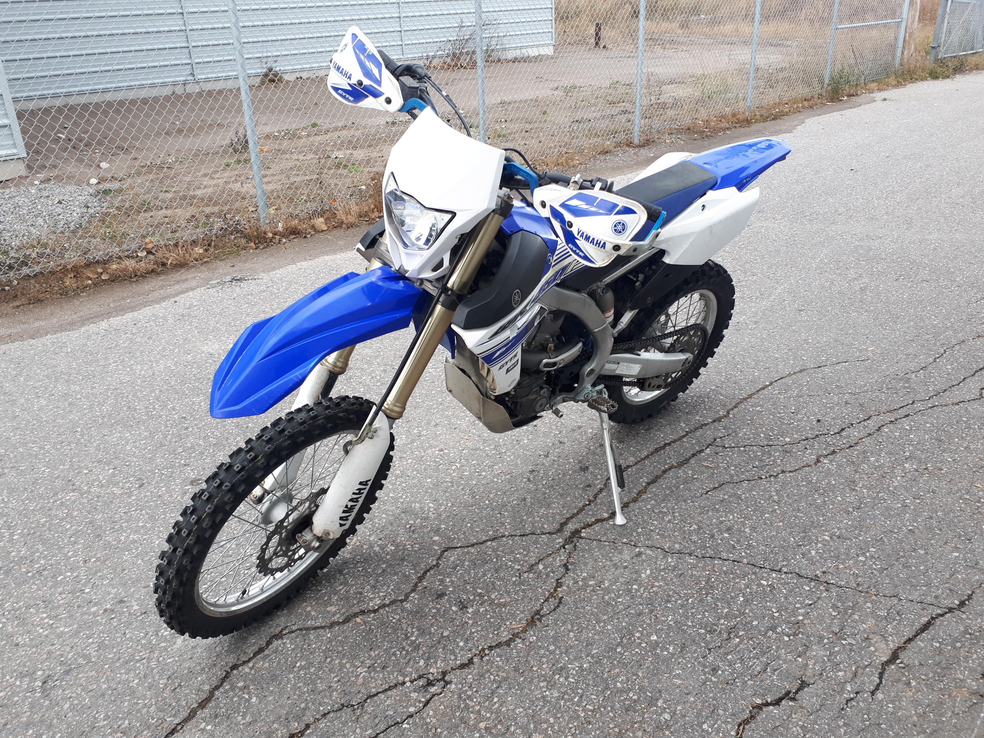 Yamaha WR 450F 2016