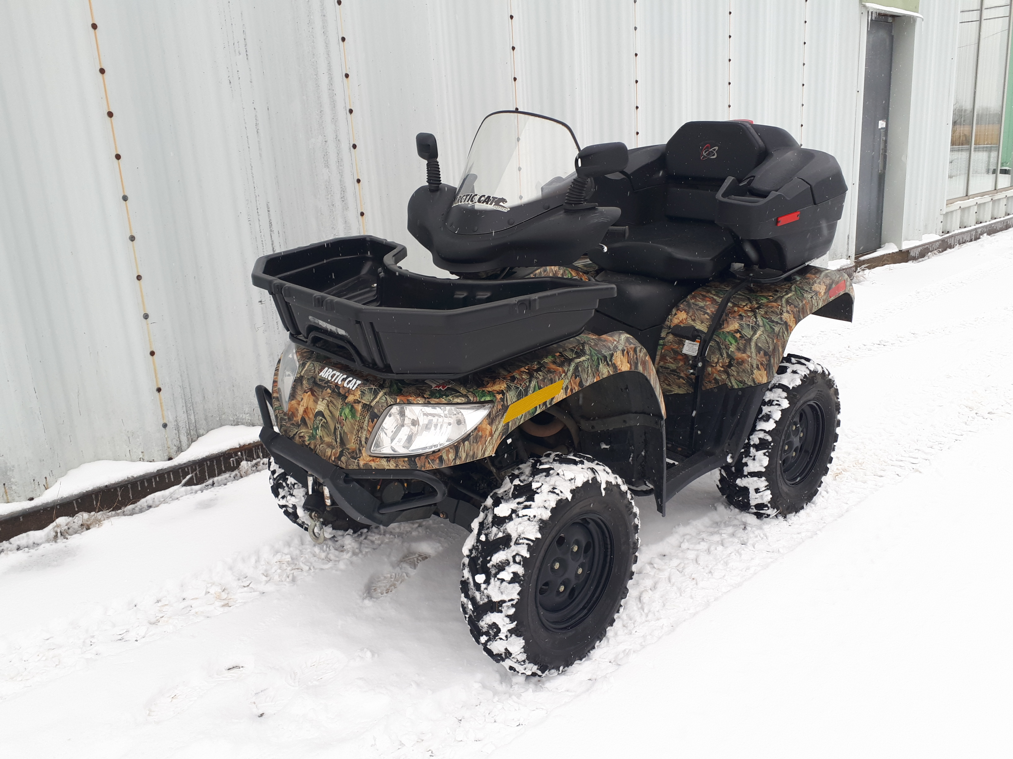 Arctic Cat 700 4×4 2010