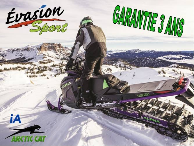 Garantie additionnel de 2 ans sur Arctic Cat