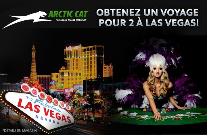 Obtenez un voyage pour 2 pour Las Vegas