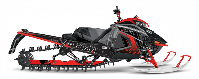 Arctic Cat M 8000 Mountain Cat Alpha One avec ATAC 2021