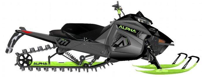 Arctic Cat M 6000 Alpha One ES 154 2020