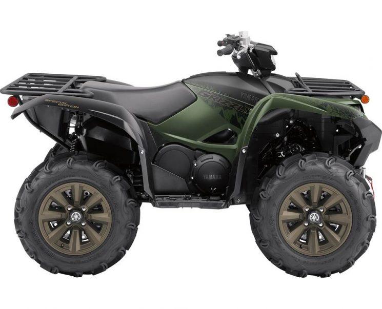 Yamaha GRIZZLY EPS SE VERT SECRET 2021