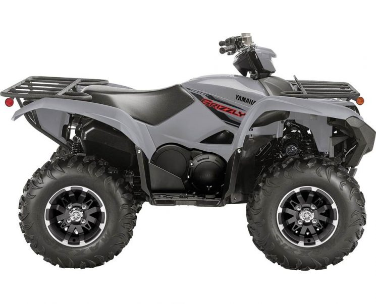 Yamaha GRIZZLY EPS GRIS BLINDÉ 2021