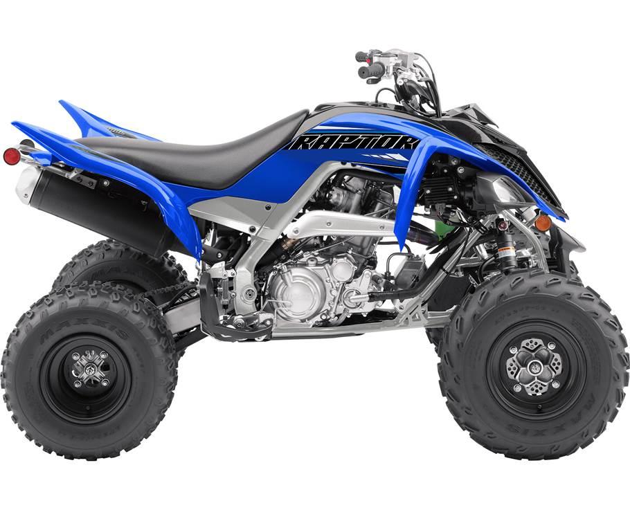 Yamaha RAPTOR 700R BLEU TEAM YAMAHA 2021